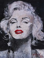 M Monroe Photo 17 Fine Art Print