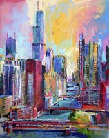 Chicago 3 Fine Art Print
