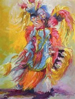 Young Dancer Fine Art Print