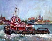 Tugboat Fine Art Print
