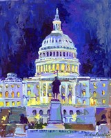 Washington D C Fine Art Print