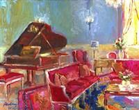 Piano Bar 2 Fine Art Print