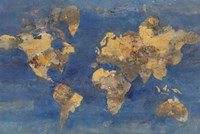 Golden World Fine Art Print