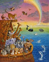 Noah & The Rainbow Fine Art Print