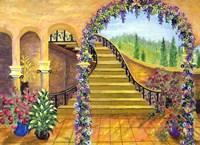 Terrace Garden Fine Art Print