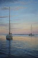 Restful Sails Fine Art Print