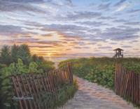 Sunrise at Delray Beach Fine Art Print