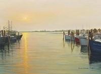 Point Judith Harbor Fine Art Print