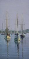 Stonington Sail Boats Fine Art Print