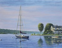 Watch Hill Harbor Fine Art Print
