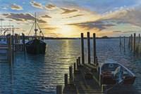 Westport Harbor, Ma Fine Art Print