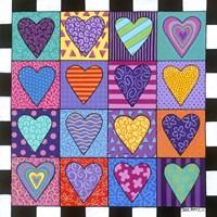 16 Heart Fine Art Print