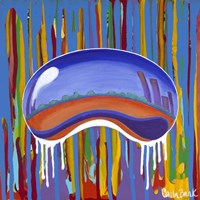 Dripping Bean Fine Art Print