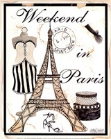 Weekend In Paris Fine Art Print
