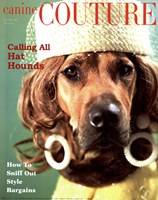 Couture - Calling All Hounds Fine Art Print