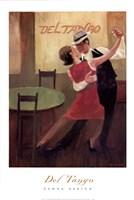 Del Tango Fine Art Print