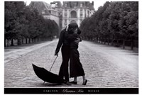 Parisian Kiss Fine Art Print