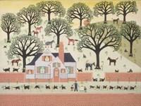 Brick Farm Fine Art Print