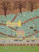 Farm Folks Fine Art Print