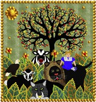 Peaceable Kingdom 11 Framed Print