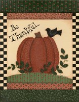 Be Thankful Fine Art Print