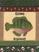 Fishing I Framed Print