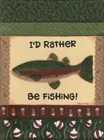 Fishing II Fine Art Print