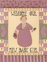 Welcome Baby I Fine Art Print
