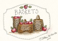 3 Baskets Fine Art Print