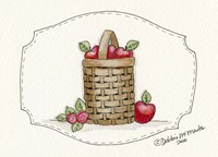 Tall Apple Baskets Fine Art Print