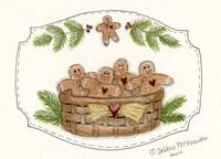 Basket Of Gingerbread Fine Art Print