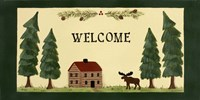 Welcome - Cabin Fine Art Print