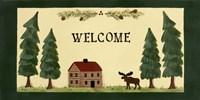 Welcome - Cabin Fine Art Print