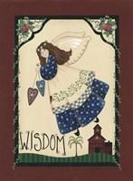 Wisdom Angel Framed Print