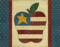 Apple Flag Fine Art Print