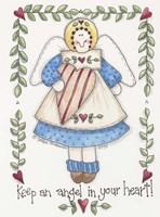 Angel In Your Heart Fine Art Print