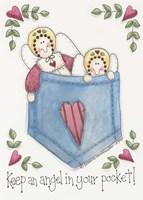 Angel In Your Pocket Fine Art Print