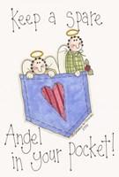 Angel In Your Pocket 2 Fine Art Print