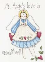 Angel Love Fine Art Print