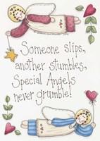 Angels Never Grumble Fine Art Print