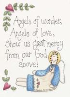 Angels Of Wonder Fine Art Print