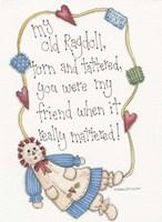My Old Ragdoll Fine Art Print