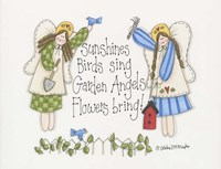 Garden Angels Fine Art Print