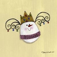 Egg Princess Framed Print