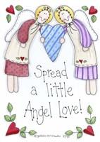 Spread A Little Angel Love Fine Art Print