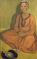 Study of Mulatto Woman, 1915 Fine Art Print