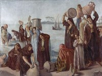 Women Drawing Water from the Nile Fine Art Print