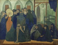 Arab celebration, 1894 Fine Art Print