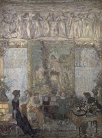 The Library, 1911 Fine Art Print