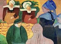 Women in Brittany Fine Art Print